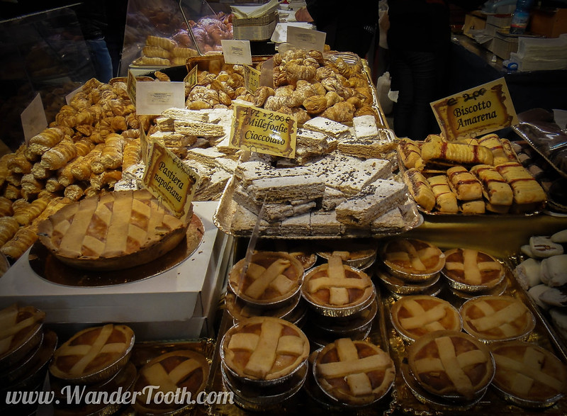 Italian Baking at Milan Christmas Market