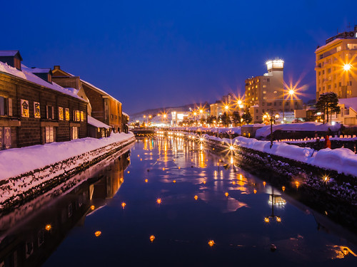 Otaru Canal at Blue Hour