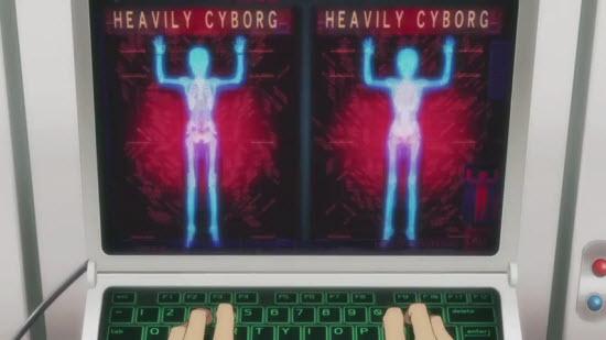 デュアル画面 HEAVILY CYBORG