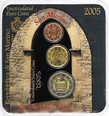 Oficiálny miniset San Marino 2005