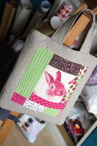 bunny bag.