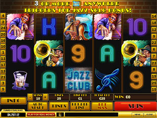 The Jazz Club slot game online review