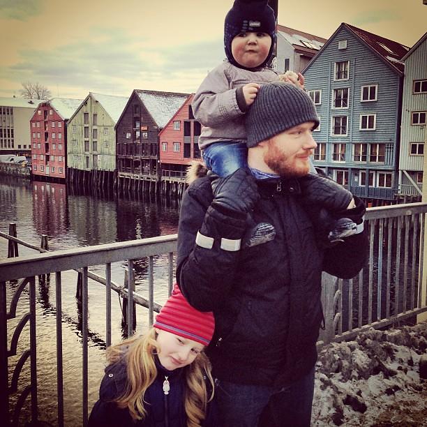 Familietur til byen ❤