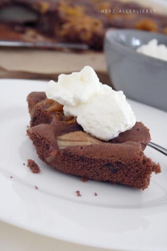 Birnen-Schoko-Kuchen