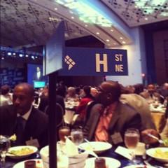 Loving our table name at the Washington DC Economic Partnership