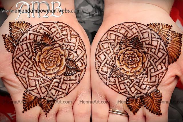 20130213 j henna jen natural henna grand rapids mi celtic for Rose henna tattoo