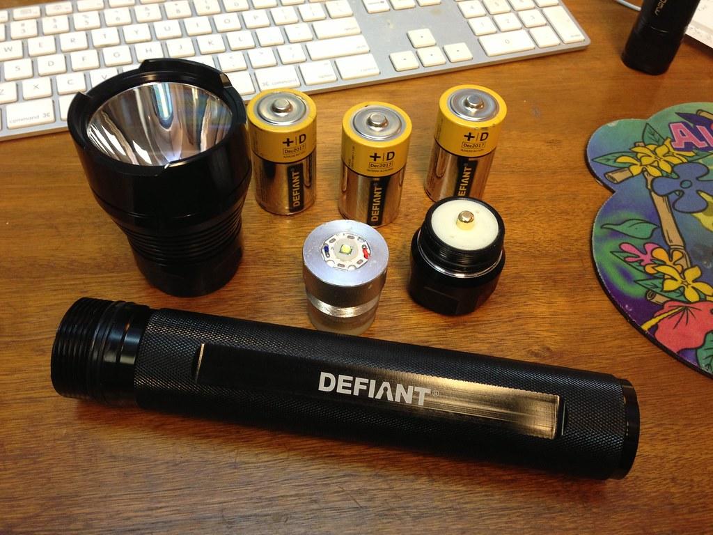 Unique Defiant Flashlight Battery Replacement