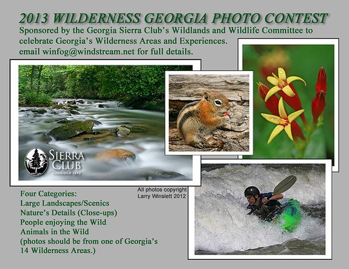 2013 Wilderness Georgia Photo Contest