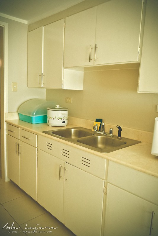 The kitchen area at Subic Homes