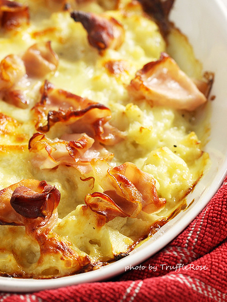 沒有澱粉的 mac and chees-20130221