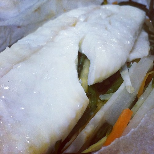 My parcel of #plaice for #lunch from Fallon & Byrne restaurant at #catex #catex13