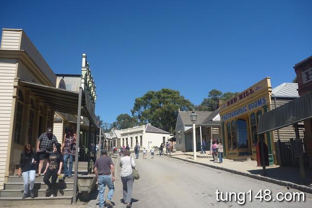 เหมืองทอง Sovereign Hill Ballarat