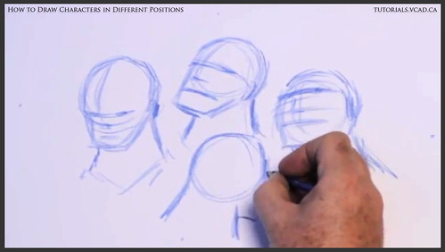 learn how to draw characters in different positions 007