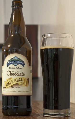 Review: Granville Island Chocolate Imperial Stout by Cody La Bière