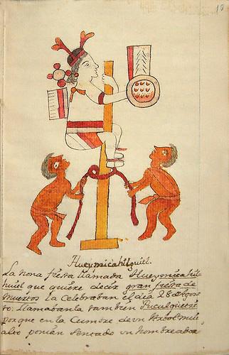 016-Novena fiesta Hueymicahilguitl-Códice Veitia- Biblioteca Virtual Miguel de Cervantes