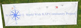 KAP Banner in Totnes