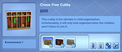 Chaos Free Cubby