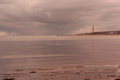 Looking toward Spittal Point in Berwick upon Tweed
