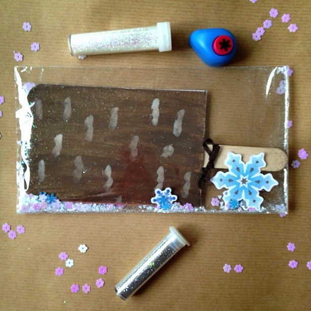#feast #icecream #icelolly #confetti #snowflakes #snailmail #glitter #elevatedenvelope