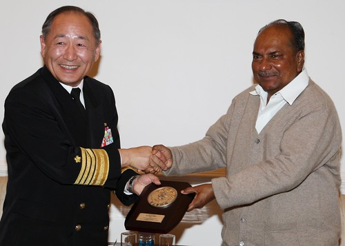 VISIT OF CHIEF OF STAFF, JAPAN MARITIME SELF DEFENCE FORCE by Chindits