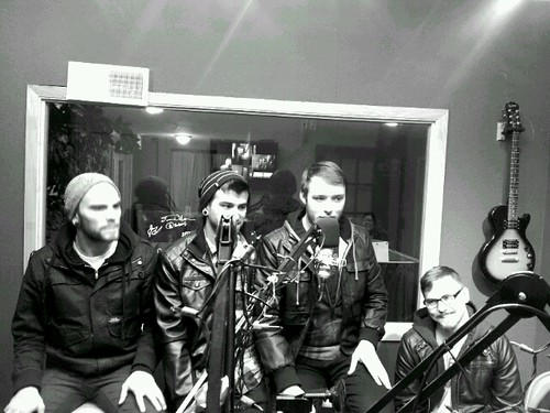 Righteous Vendetta in studio