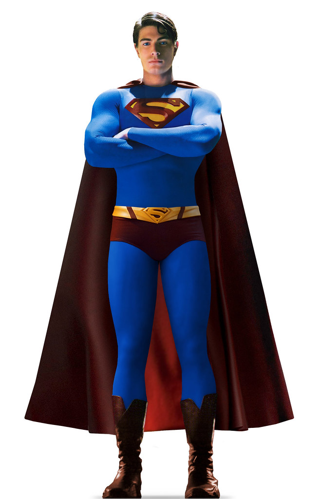 brandon routh superman - 653×1024