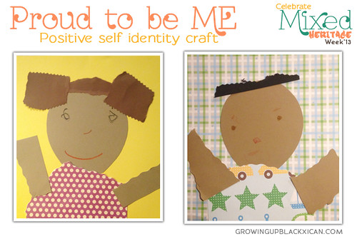 Proud to be Me positive identity craft