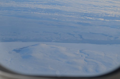 February 28 Flying over the Aleutian Islands