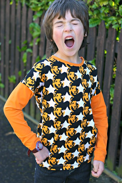 starlion long sleeve dolman roar