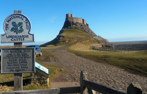 Entrance to Lindisfarne Castle