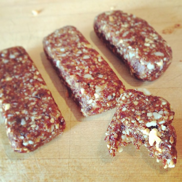 Home-made Larabars
