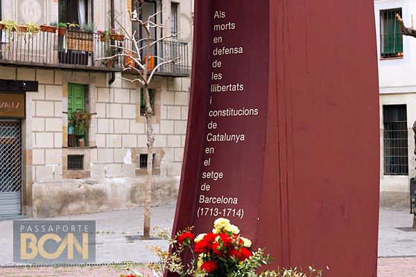 Fossar de les Moreres, El Born, Barcelona
