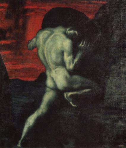 Sisyphos von Franz von Stuck, 1920