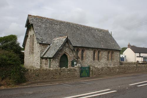 The Church of the Annunciation, Ashton, Cornwall