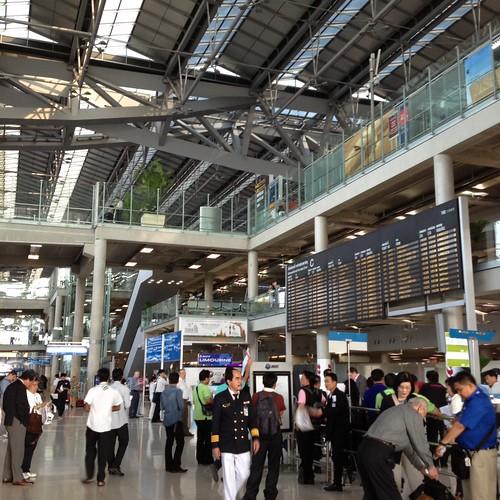 スワンナプーム国際空港 by haruhiko_iyota