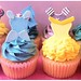 Disney Princess Cupcakes by top the cupcake