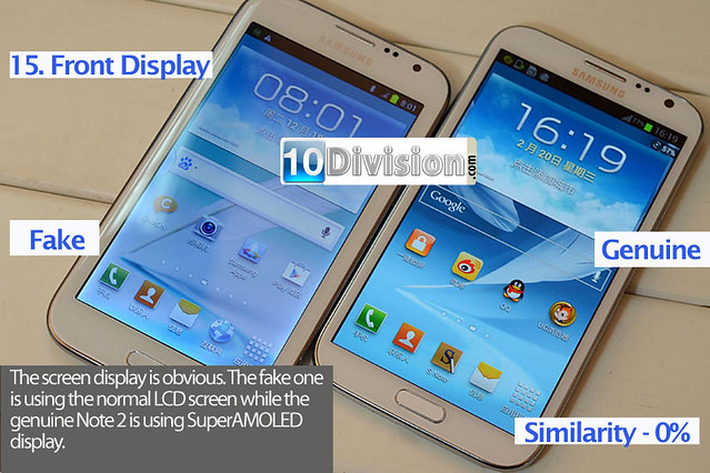 15 Samsung Galaxy Note 2 (GT-N7100) - Clone vs Original Ultimate Comparison