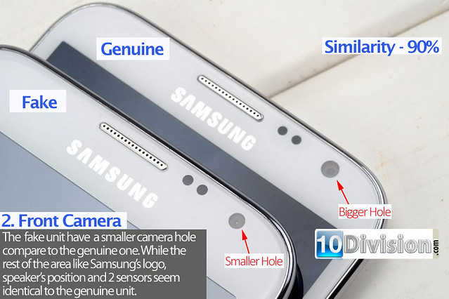 2 Samsung Galaxy Note 2 (GT-N7100) - Clone vs Original Ultimate Comparison