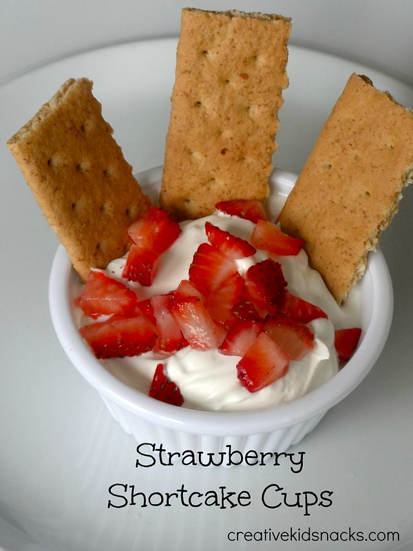 Strawberry Shortcake Cups from creativekidsnacks.com