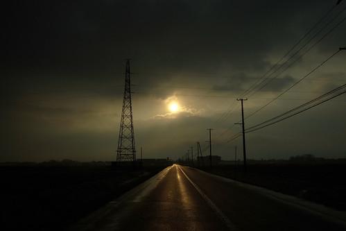 朝日のあたる道