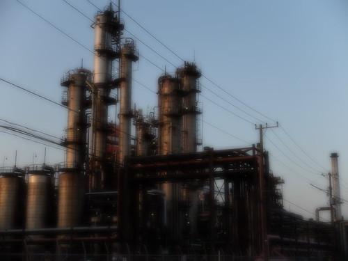 Kawasaki Factory dusk scene 04