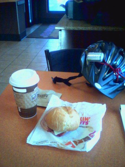 Breakaneuring at Dunkin Donuts