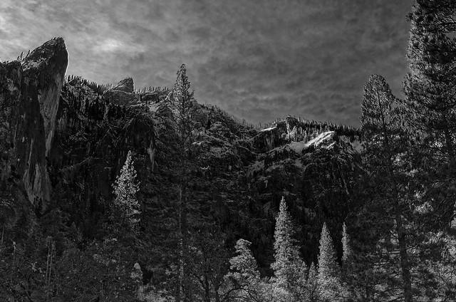 Sierra Nevadas BW