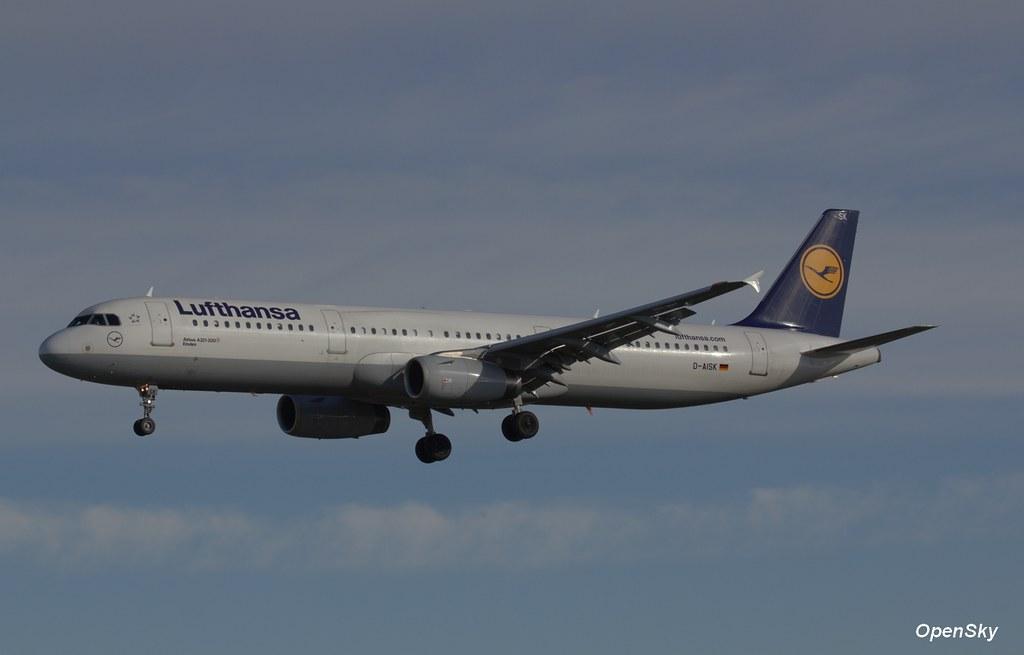 Lufthansa Airbus A321-231 D-AISK (cn 3387)