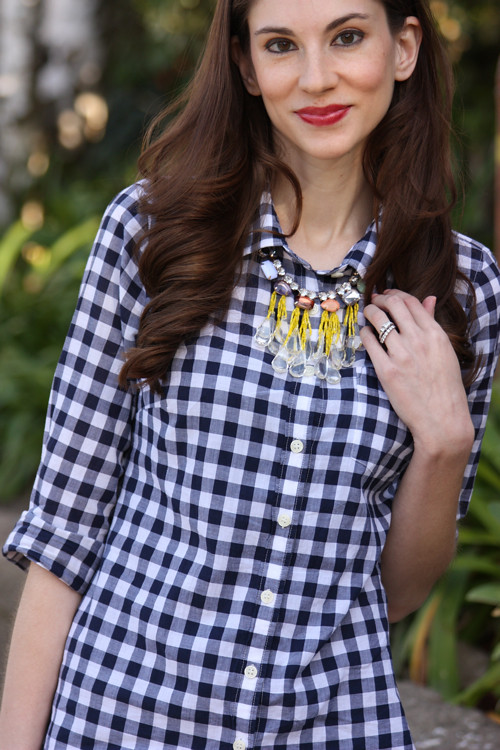 Gingham Casual3