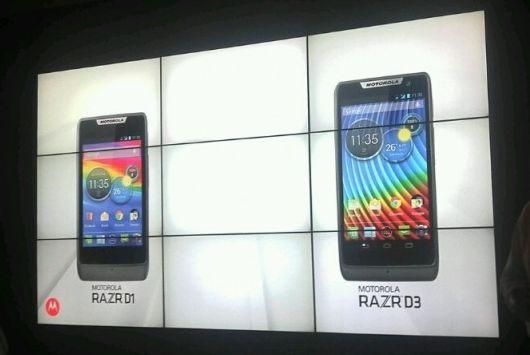 Motorola RAZR D1 и D3