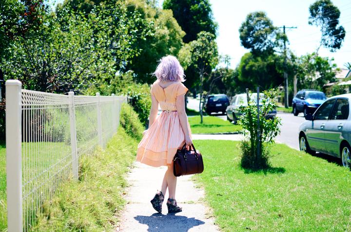 peach lilac a