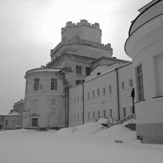 Vvedenskaya Gate Church Novo-Tikhvin Nunnery