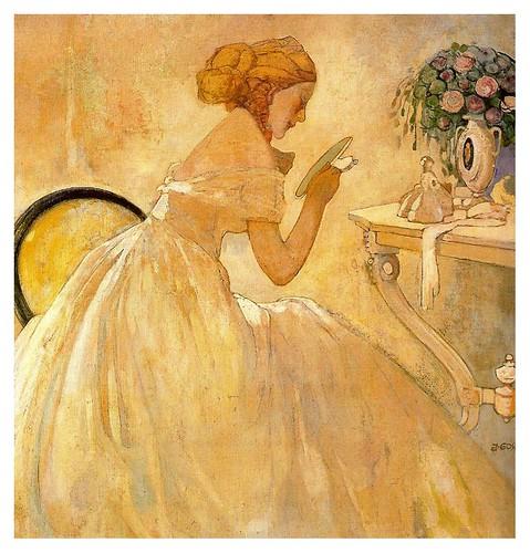008-Señora con espejo-Xavier Gose-via ciudad de la pintura