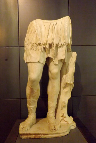 Statue of a Roman Soldier in the Capitoline Museum, July 2012